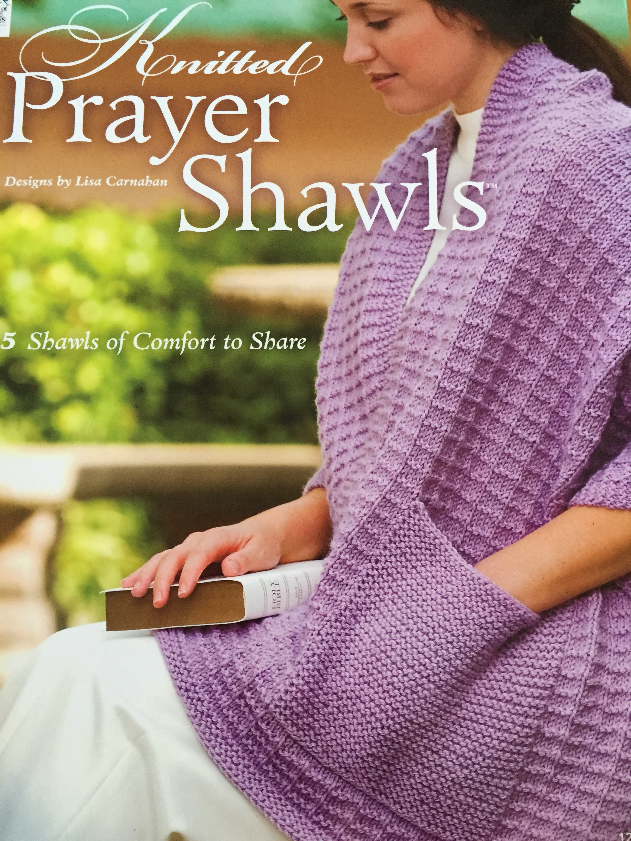 Knitted Prayer Shawls by Lisa Carnahan